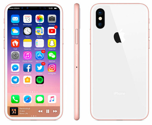 Apple iPhone 8 256gb Rose Gold (Розовый)